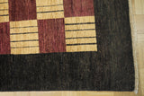 18011-Chobi Ziegler Hand-Knotted/Handmade Afghan Rug/Carpet Tribal/Nomadic Authentic
