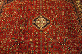 "16767 - Abadeh Hand-Knotted/Handmade Persian  Rug/Carpet Tribal/Nomadic Authentic 9'10"" x 6'6"""