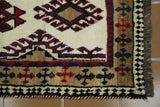 18242-Shiraz Hand-Knotted/Handmade Persian Rug/Carpet Tribal/Nomadic Authentic
