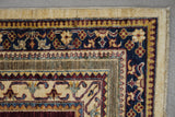 19109-Chobi Ziegler Hand-Knotted/Handmade Afghan Rug/Carpet Tribal/Nomadic Authentic