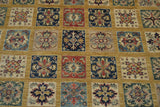"18676-Chobi Ziegler Hand-Knotted/Handmade Afghan Rug/Carpet Tribal/Nomadic Authentic 5'9"" x 6'0"""