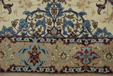 19421-Isfahan Hand-Knotted/Handmade Persian Rug/Carpet Traditional Authentic