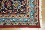 19529- Kashan Hand-Knotted/Handmade Persian Rug/Carpet Authentic