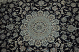 19557-Nain Hand-Knotted/Handmade Persian Rug/Carpet Traditional Authentic