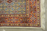 "19803-Moud Hand-Knotted/Handmade Persian Rug/Carpet Traditional Authentic 19'1"" x 2'6"""