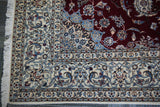 20565-Nain Hand-Knotted/Handmade  Persian Rug/Carpet Traditional Authentic