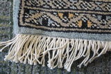 20701 -Bokhara Hand-Knotted/Handmade Pakistani Rug/Carpet Tribal/Nomadic Authentic