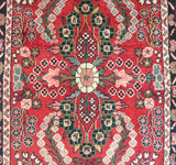 20489-Hamadan Hand-Knotted/Handmade Persian Rug/Carpet Tribal/Nomadic Authentic