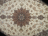 21548-Isfahan Hand-Knotted/Handmade Persian Rug/Carpet Traditional Authentic