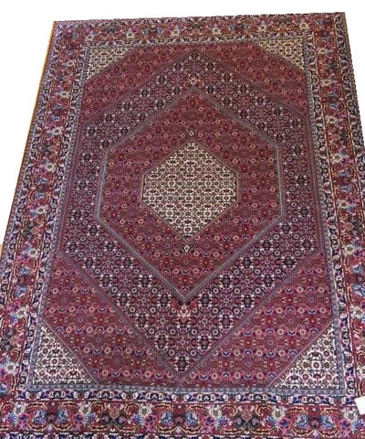 15044-Bidjar Hand-knotted/Handmade Persian Rug/Carpet Tribal/Nomadic Authentic