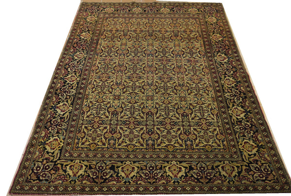 19423-Tehran Hand-Knotted/Handmade Persian Rug/Carpet Traditional Authentic