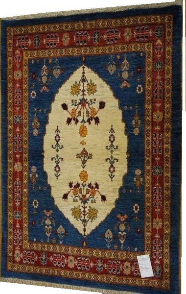 15494-Lori Gabbeh hand-Knotted/Handmade Persian Rug/Carpet Traditional Authentic