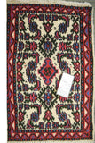 20183-Hamadan Hand-Knotted/Handmade Persian Rug/Carpet Traditional Authentic