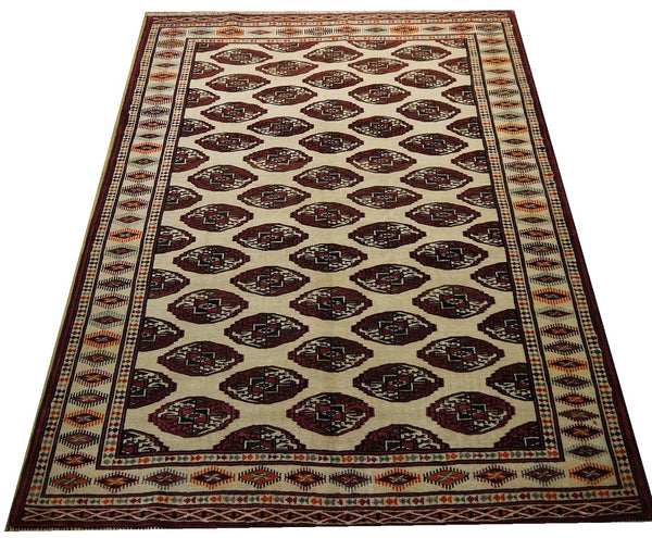 17344-Balutch Hand-Knotted/Handmade Persian Rug/Carpet Tribal/Nomadic Authentic