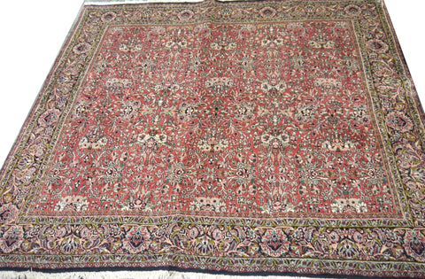 20573-Bidjar Hand-Knotted/Handmade Persian Rug/Carpet Traditional Authentic