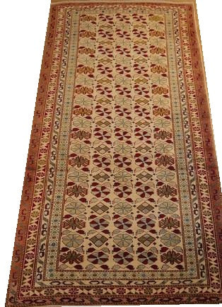 16078-Uzbek Hand-Knotted/Handmade Afghan Rug/Carpet Tribal/Nomadic Authentic