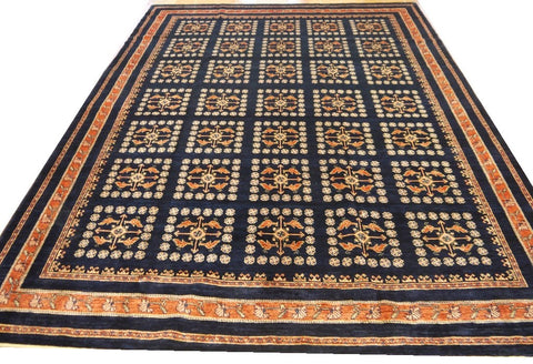 "19985-Lori Gabbeh Hand-Knotted/Handmade Persian Rug/Carpet Tribal/Nomadic Authentic 11'8"" x 8'4"""