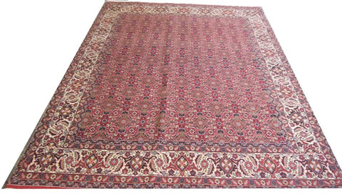 20826-Bidjar Hand-Knotted/Handmade Persian Rug/Carpet Tribal/Nomadic Authentic