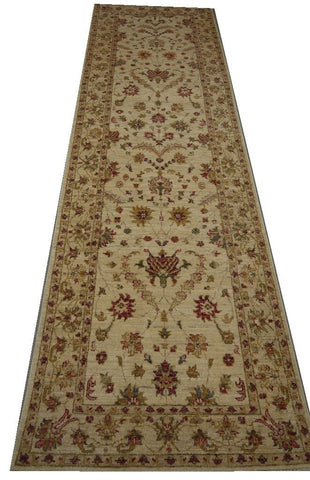 19335-Chobi Ziegler Handmade/Hand-knotted Afghan Rug/Carpet Tribal/Nomadic Authentic
