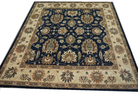 19256-Chobi Ziegler Hand-Knotted/Handmade Afghan Rug/Carpet Tribal/Nomadic Authentic