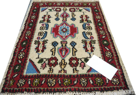 20120 -Hamadan Hand-Knotted/Handmade Persian Rug/Carpet Traditional Authentic