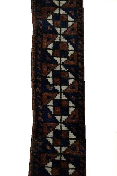 15145-Balutch Tent Band Hand-Knotted/Handmade Persian Rug/Carpet Tribal/Nomadic Authentic