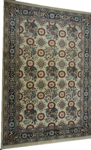 15412-Sarough Hand-Knotted/Handmade Persian Rug/Carpet Tribal/Nomadic Authentic