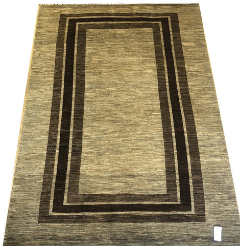 20967-Chobi Ziegler Hand-Knotted/Handmade Afghan Rug/Carpet Tribal/Nomadic Authentic
