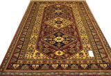 "19408-Royal Shirvan Handmade/Hand-knotted Afghan Rug/Carpet Tribal/Nomadic Authentic   8'4"" x 5'10"""