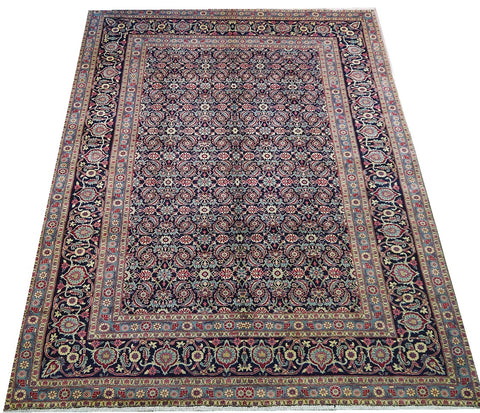 16625-Kashmar Hand-Knotted/Handmade Persian Rug/Carpet Tribal/Nomadic Authentic