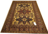 19386-Royal Shirvan Handmade/Hand-knotted Afghan Rug/Carpet Tribal/Nomadic Authentic