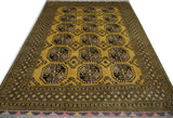 18725-Khal Mohammad Hand-Knotted/Handmade Afghan Rug/Carpet Tribal/Nomadic Authentic