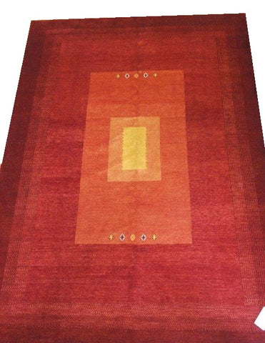 "15080 - Lori Persian Hand-knotted Authentic/Traditional Nomadic/Tribal Gabbeh 9'6"" x 6'9"""