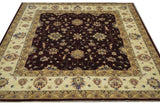 "19259-Chobi Ziegler Hand-Knotted/Handmade Afghan Rug/Carpet Tribal/Nomadic Authentic 6'7"" x 6'8"""