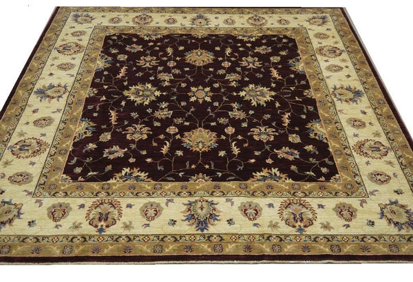 19259-Chobi Ziegler Hand-Knotted/Handmade Afghan Rug/Carpet Tribal/Nomadic Authentic