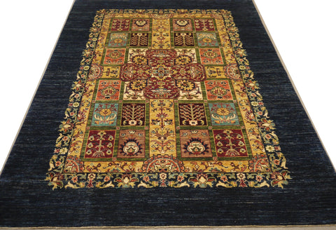 19304-Chobi Ziegler Hand-Knotted/Handmade Afghan Rug/Carpet Tribal/Nomadic Authentic
