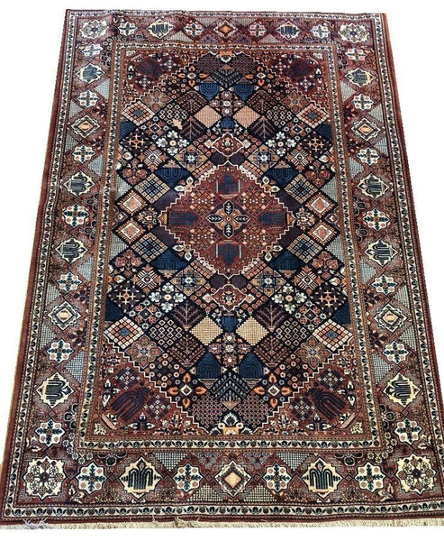 20921-Kashan Hand-Knotted/Handmade Persian Rug/Carpet Traditional Authentic