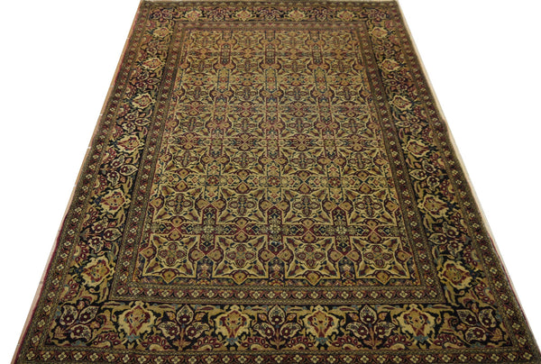 19424-Tehran Hand-Knotted/Handmade Persian Rug/Carpet Traditional Authentic