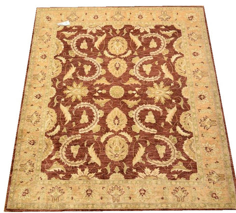 "11007 -  Hand-knotted Contemporary/Modern Carpet/Rug 7'7"" x 5'11"""
