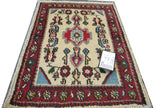 20141 -Hamadan Hand-Knotted/Handmade Persian Rug/Carpet Traditional Authentic