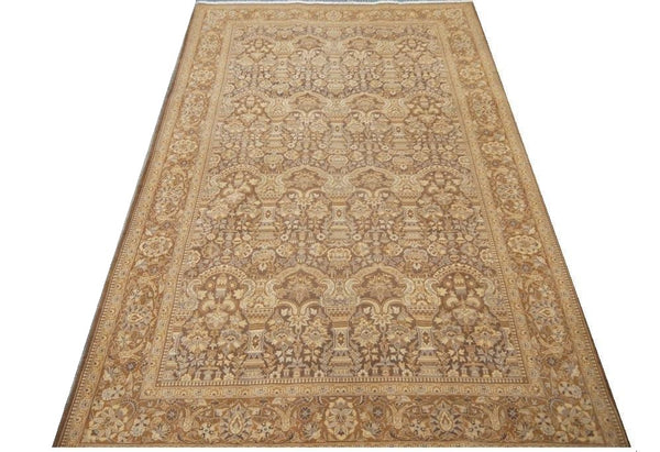 20861 - Haji Jalili Afghan Hand-Knotted/Handmade Afghan Rug/Carpet Traditional Authentic