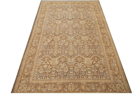 "20861 - Haji Jalili Afghan Hand-Knotted/Handmade Afghan Rug/Carpet Traditional Authentic 7'3"" x 4'5"""