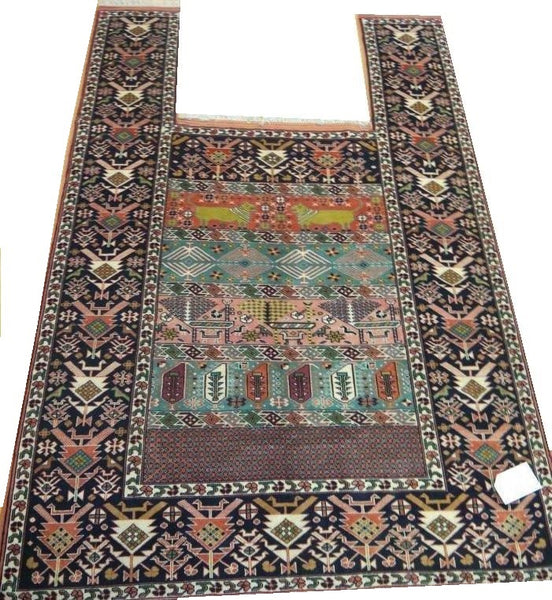 15591-Gouchan Hand-Knotted/Handmade Persian Rug/Carpet Tribal/Nomadic  Authentic