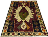 "18251-Shiraz Hand-Knotted/Handmade Persian Rug/Carpet Tribal/Nomadic Authentic 6'8"" x 4'6"""