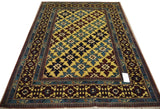 19368-Royal Shirvan Handmade/Hand-knotted Afghan Rug/Carpet Tribal/Nomadic Authentic