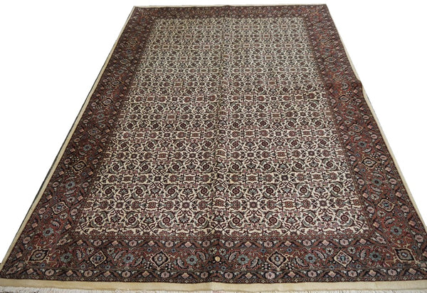 20563-Bidjar Hand-Knotted/Handmade Persian Rug/Carpet Traditional Authentic