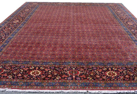 15099-Bidjar Hand-Knotted/Handmade Persian Rug/Carpet Traditional Authentic