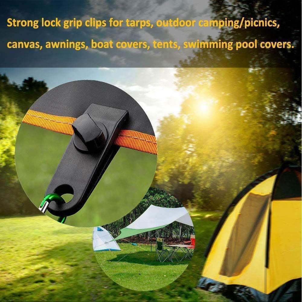 Fixed Outdoor Plastic Tent Clips For Outdoor Tent