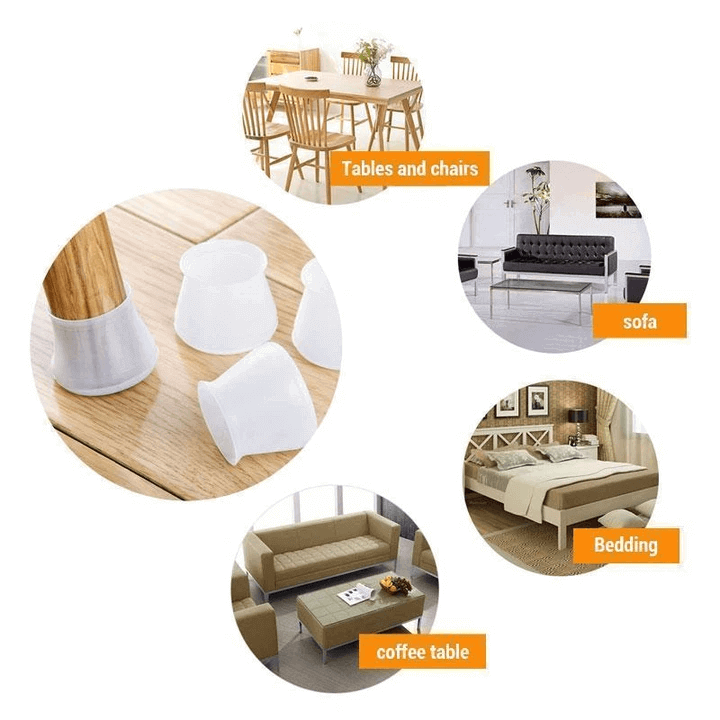 Furniture Silicone Protection Cover 16pcs/set-2