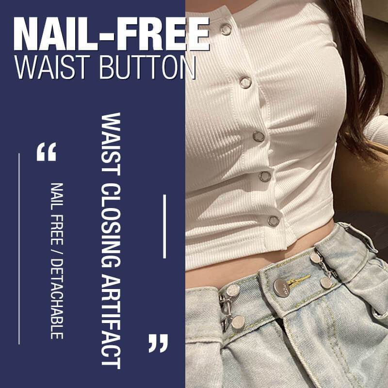 Waist Extender - Jeans Retractable Button
